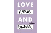 Love Home And Planet Logo